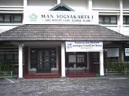 MAN 1 Yogyakarta Halaman Depan