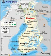 Peta Firlandia