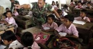 Sekolah di Perbatasan Depan