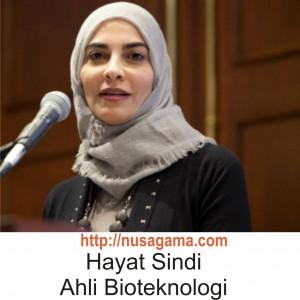 Hayat Sindi Ahli Bioteknologi