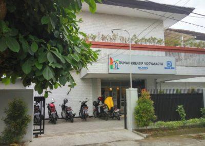 Gedung Rumah Kreatif BUMN BRI Yogyakarta NUSAGAMA