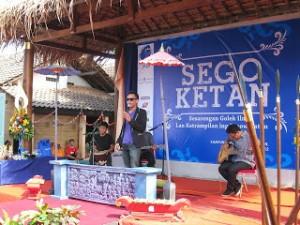 Jogja Kampung Wisata Kadipaten Sego Ketan Pentas Musik