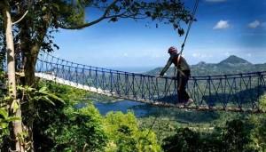 Kulon Progo wisata-alam-kalibiru Outbon Training