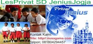 Les Privat SD Jogja Jenius