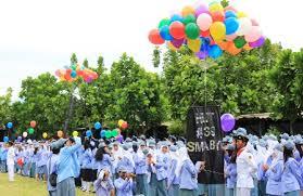 SMA Negeri 8 Yogyakarta upacara
