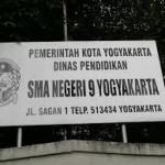 SMA Negeri 9 Yogyakarta Alamat