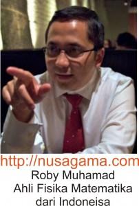 Roby Muhamad Ahli Fisika Matematika dari Indoneisa