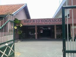 SMPN 10 Yogyakarta Gerbang