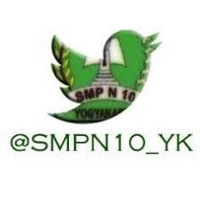 SMPN 10 Yogyakarta Logo Twit