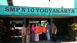 SMPN 10 Yogyakarta Pratikum Mahasiswa Cina Tiongkok