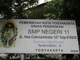 SMPN 11 Yogyakarta Alamat