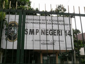 SMPN 14 Yogyakarta Alamat