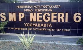 SMPN 6 Yogyakarta Alamat