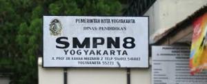SMPN 8 Jogja Alamat