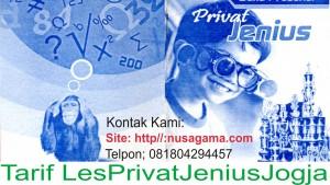 Tarif Les Privat Jenius Jogja