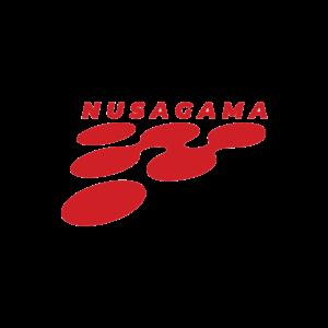 Logo NUSAGAMA COLLEGE Baru mulai 2018-sekarang